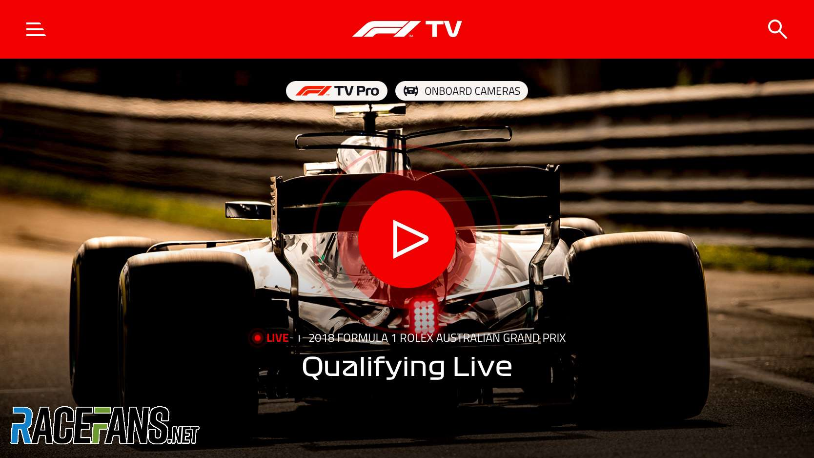 Delayed F1 Tv Pro To Arrive In Time For The Spanish Grand Prix Racefans