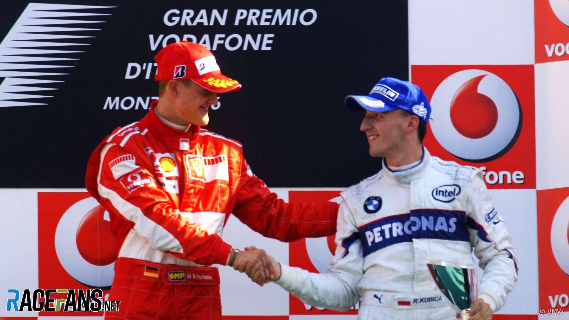 Michael Schumacher, Robert Kubica, Monza, 2006