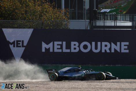 Valtteri Bottas, Mercedes, Albert Park, 2018