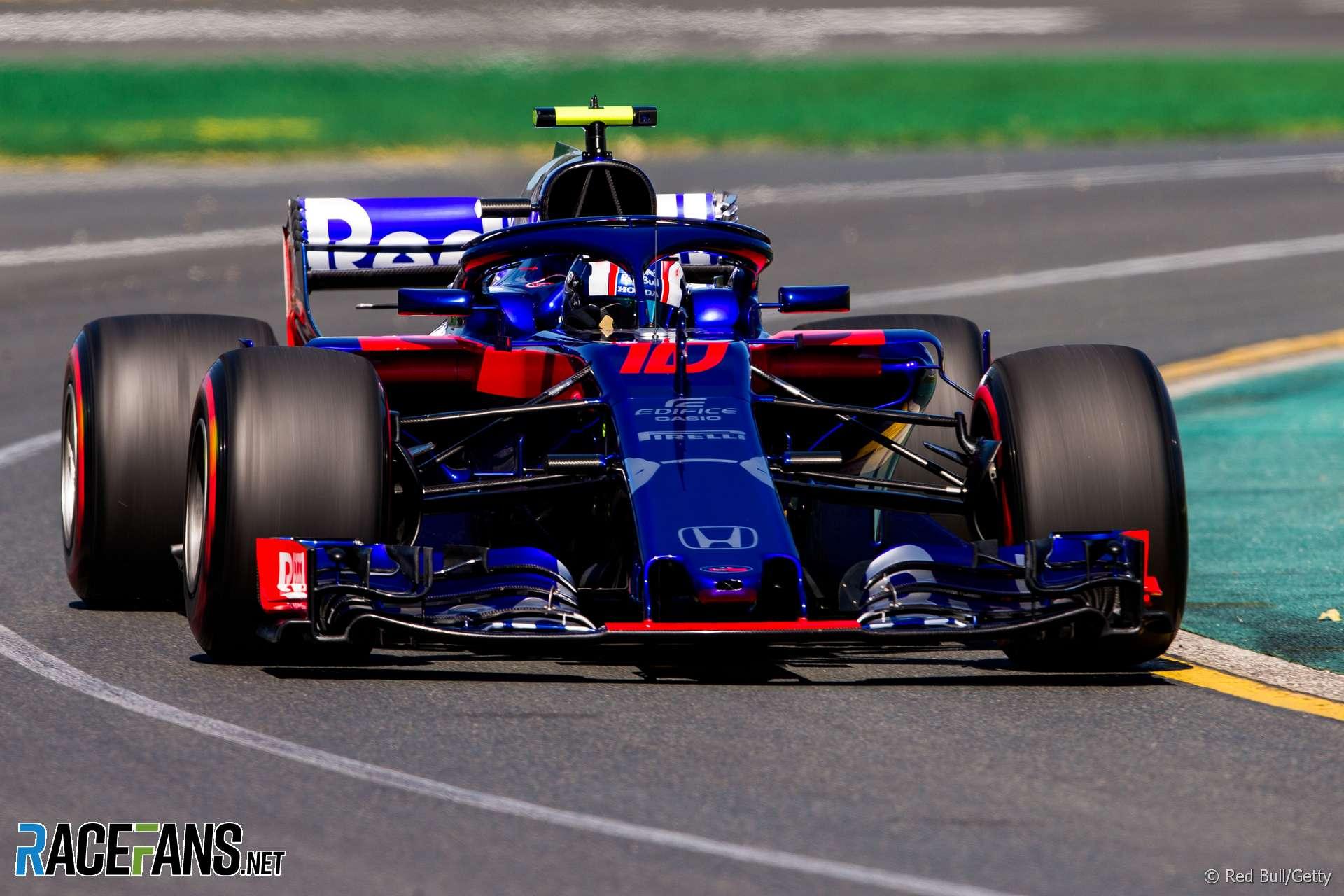 Pierre Gasly, Toro Rosso, Albert Park, 2018