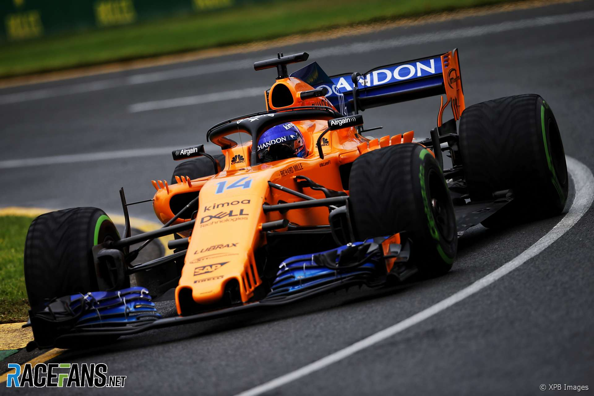 fernando alonso mclaren albert park 2018 racefans. Black Bedroom Furniture Sets. Home Design Ideas
