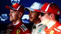 Hamilton storms to pole as Bottas crashes