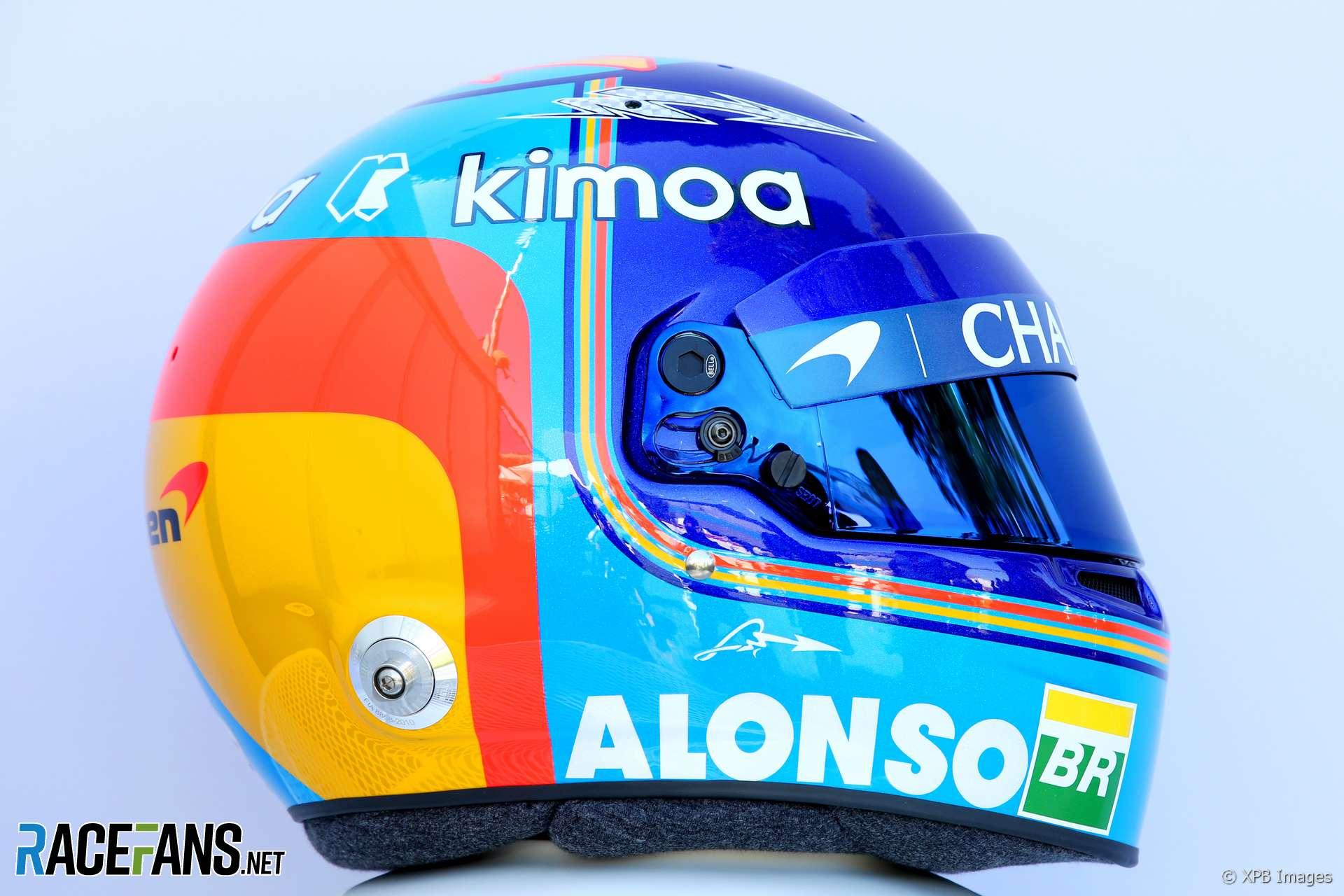 Fernando Alonso Mclaren Helmet