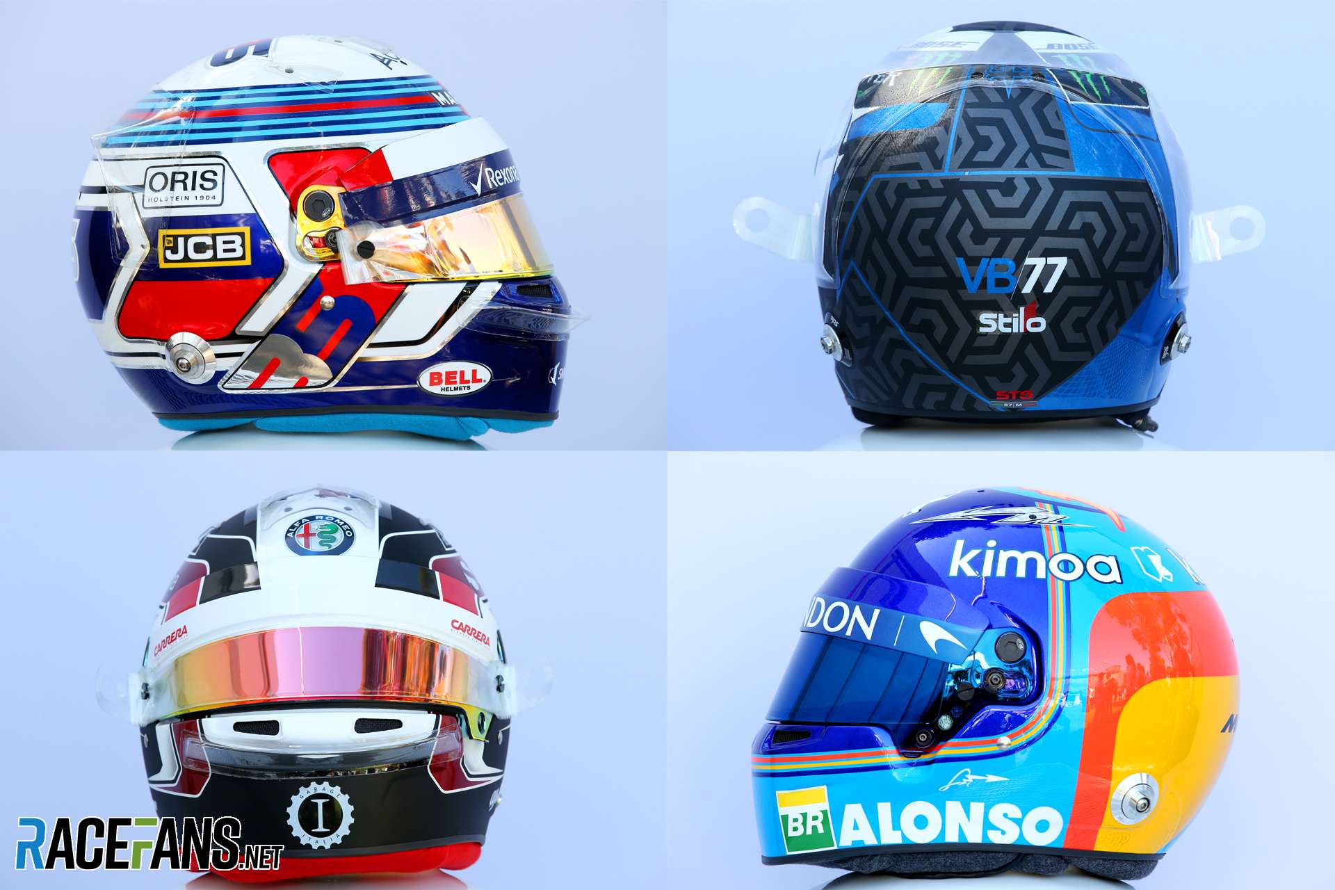 F1 2019 Ps4 Helmet Designs