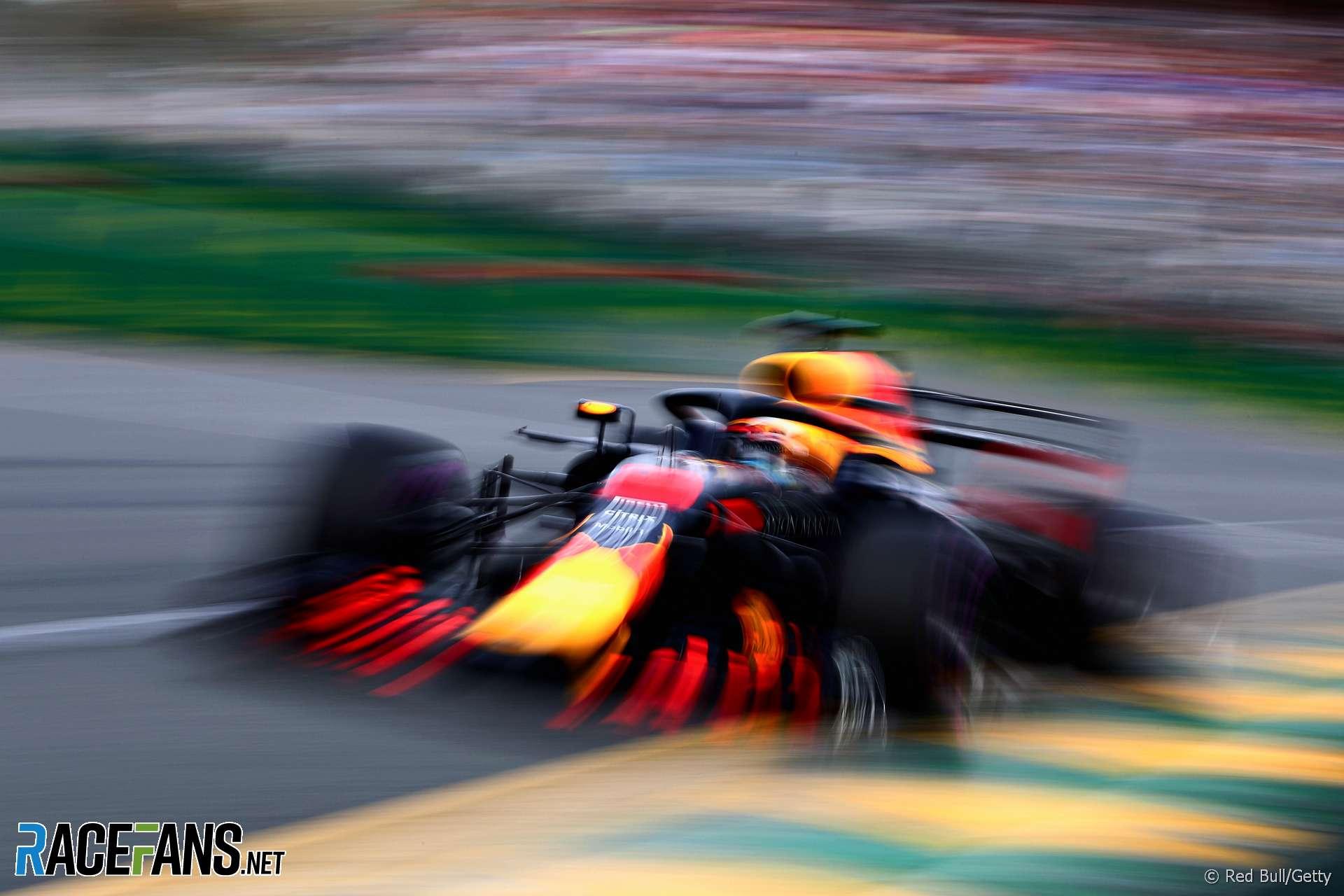 Daniel Ricciardo, Red Bull, Albert Park, 2018
