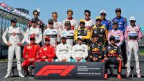 F1 drivers, Albert Park, 2018