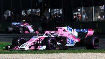 Sergio Perez, Force India, Albert Park, 2018