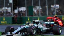 Lewis Hamilton, Mercedes, Albert Park, 2018