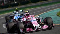 Esteban Ocon, Force India, Albert Park, 2018
