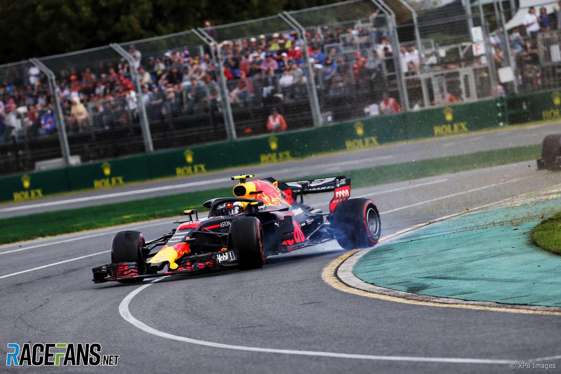 Max Verstappen, Red Bull, Albert Park, 2018