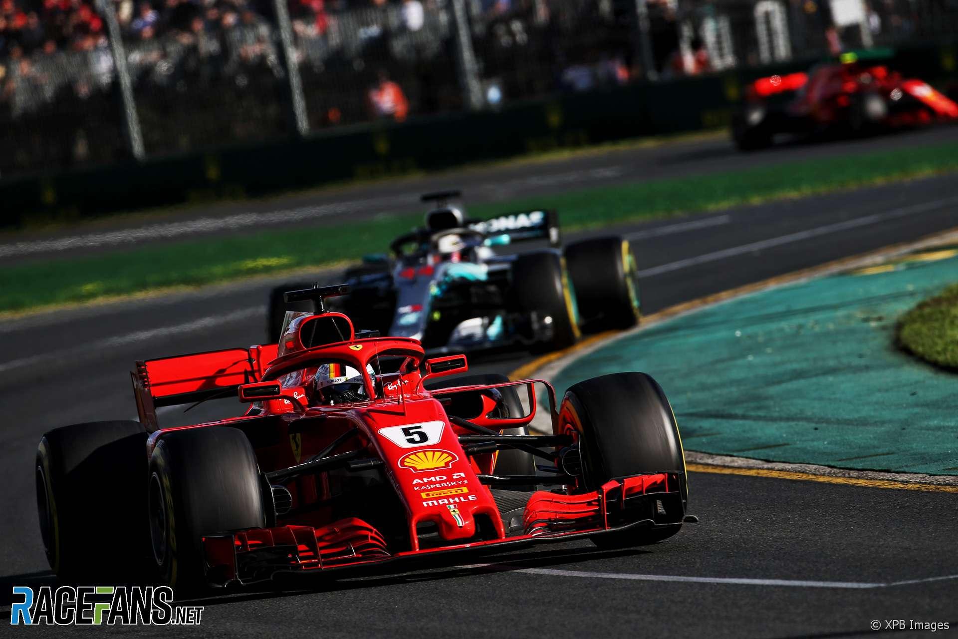 Sebastian Vettel, Ferrari, Albert Park, 2018