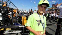 Fernando Alonso's grid kids, McLaren, Albert Park, 2018