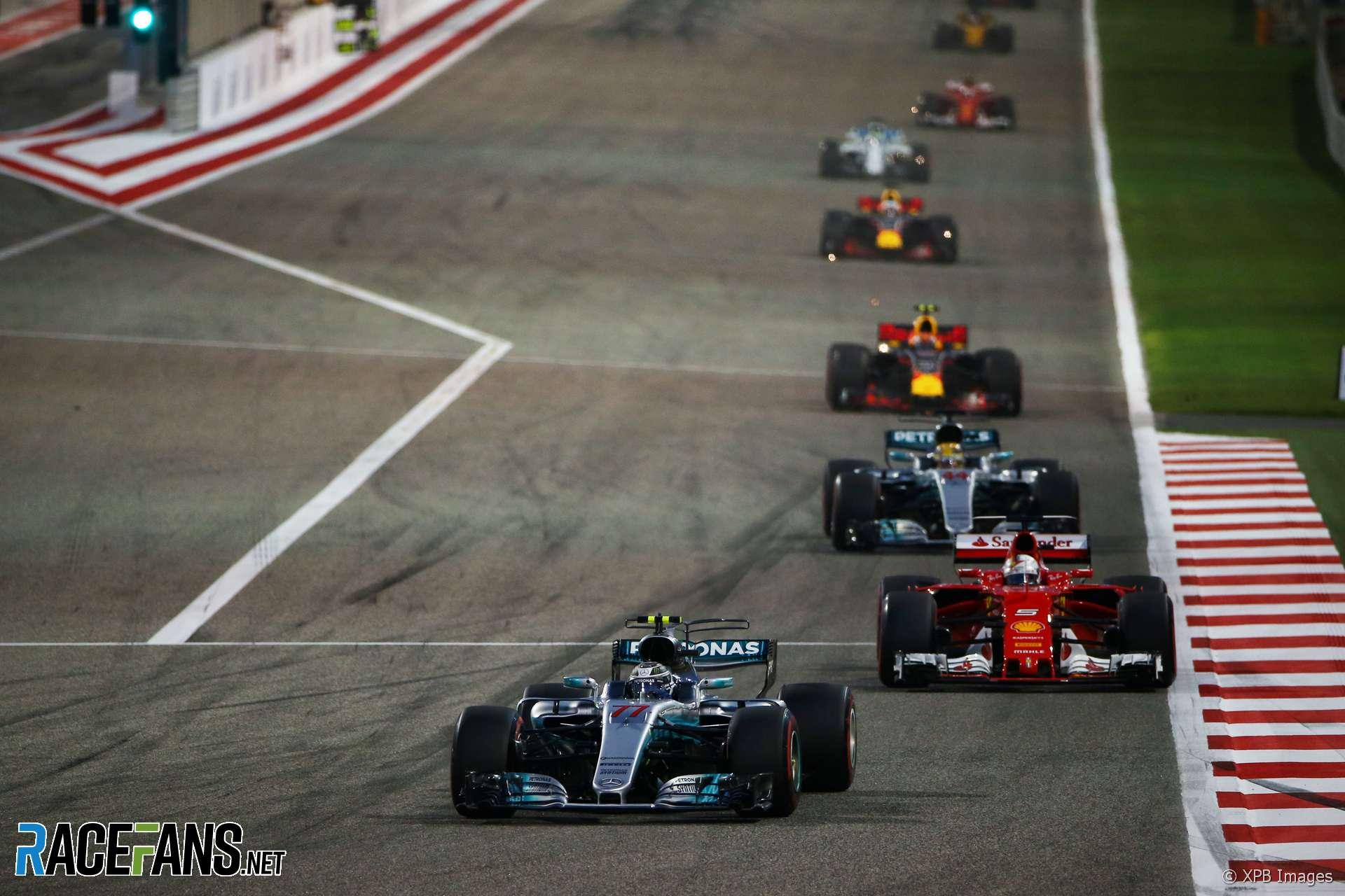 Valtteri Bottas, Mercedes, Bahrain, 2017