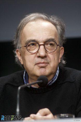 Sergio Marchionne, 2017