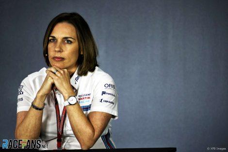 Claire Williams, Bahrain International Circuit, 2018