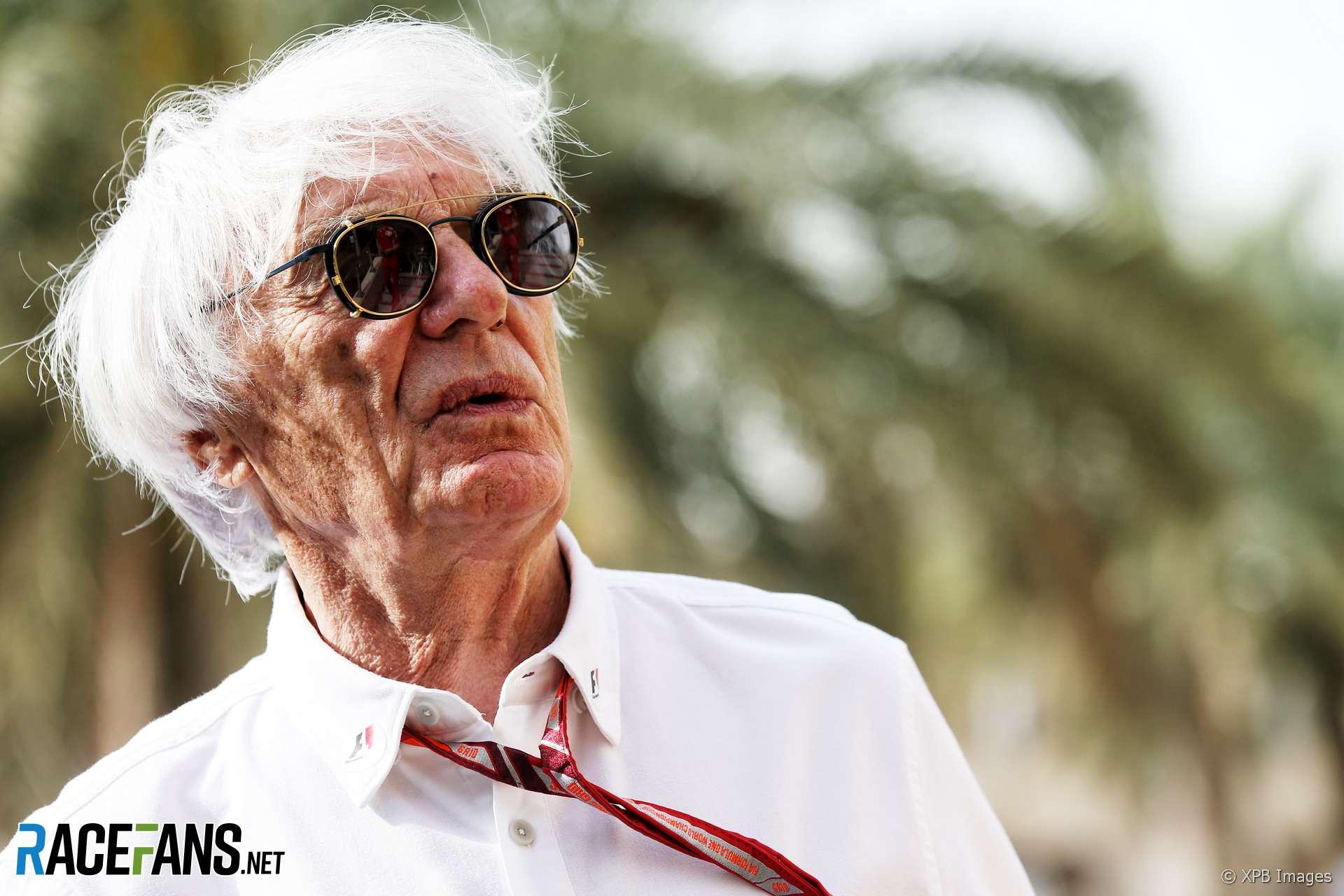 Bernie Ecclestone, Bahrain, 2018