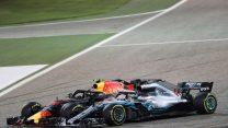 Lewis Hamilton, Max Verstappen, Bahrain International Circuit, 2018
