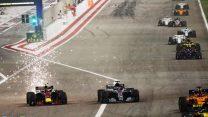 Max Verstappen, Lewis Hamilton, Bahrain International Circuit, 2018