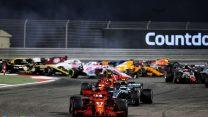 Start, Bahrain International Circuit, 2018