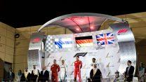 Valtteri Bottas, Sebastian Vettel, Lewis Hamilton, Bahrain International Circuit, 2018