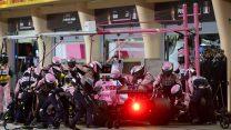 Sergio Perez, Force India, Bahrain International Circuit, 2018