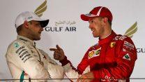 Valtteri Bottas, Sebastian Vettel, Bahrain International Circuit, 2018