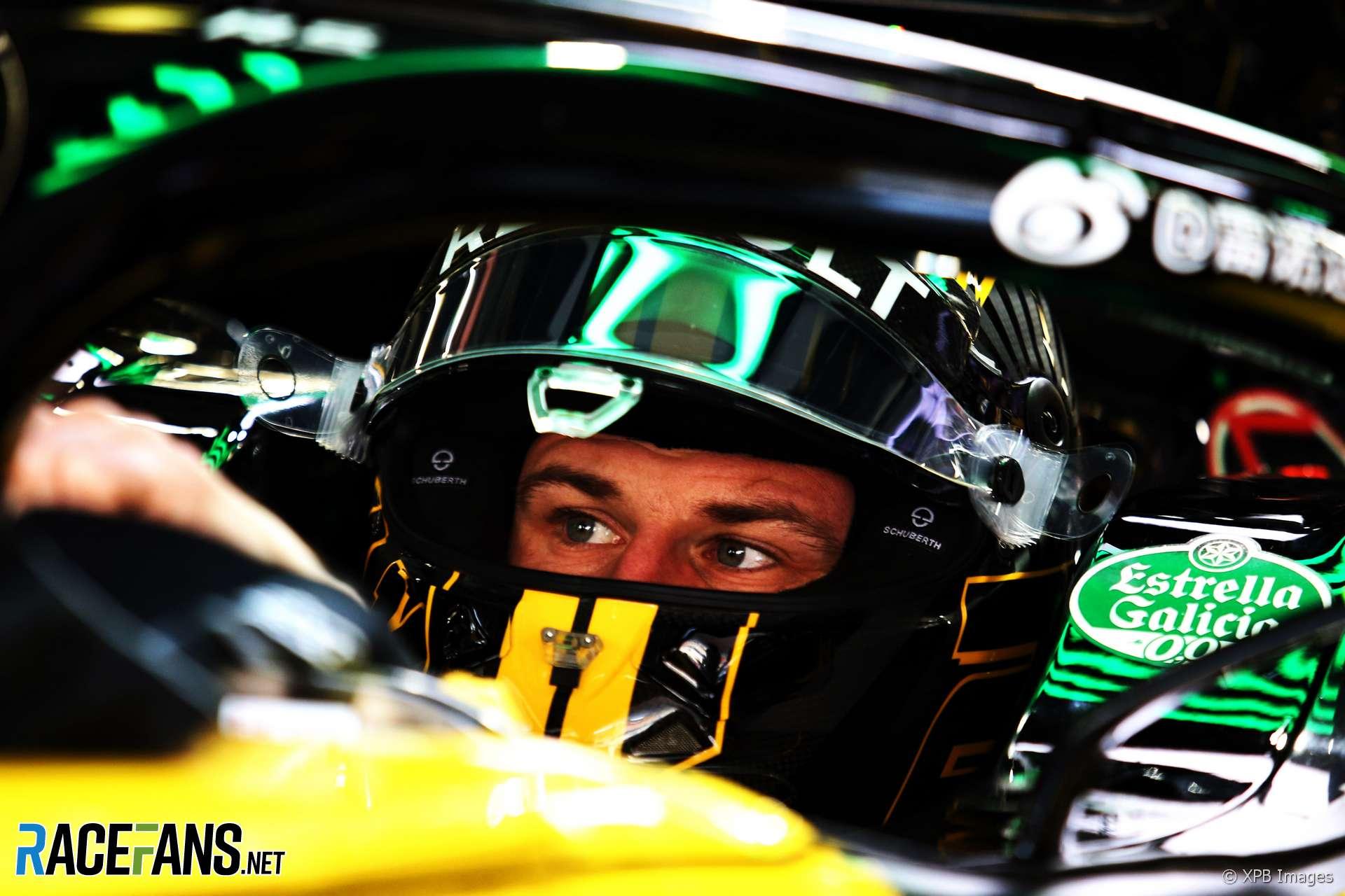 Nico Hulkenberg, Renault, Shanghai International Circuit, 2018