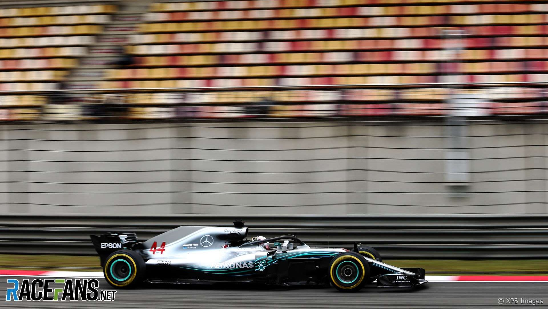 Lewis Hamilton, Mercedes, Shanghai International Circuit, 2018