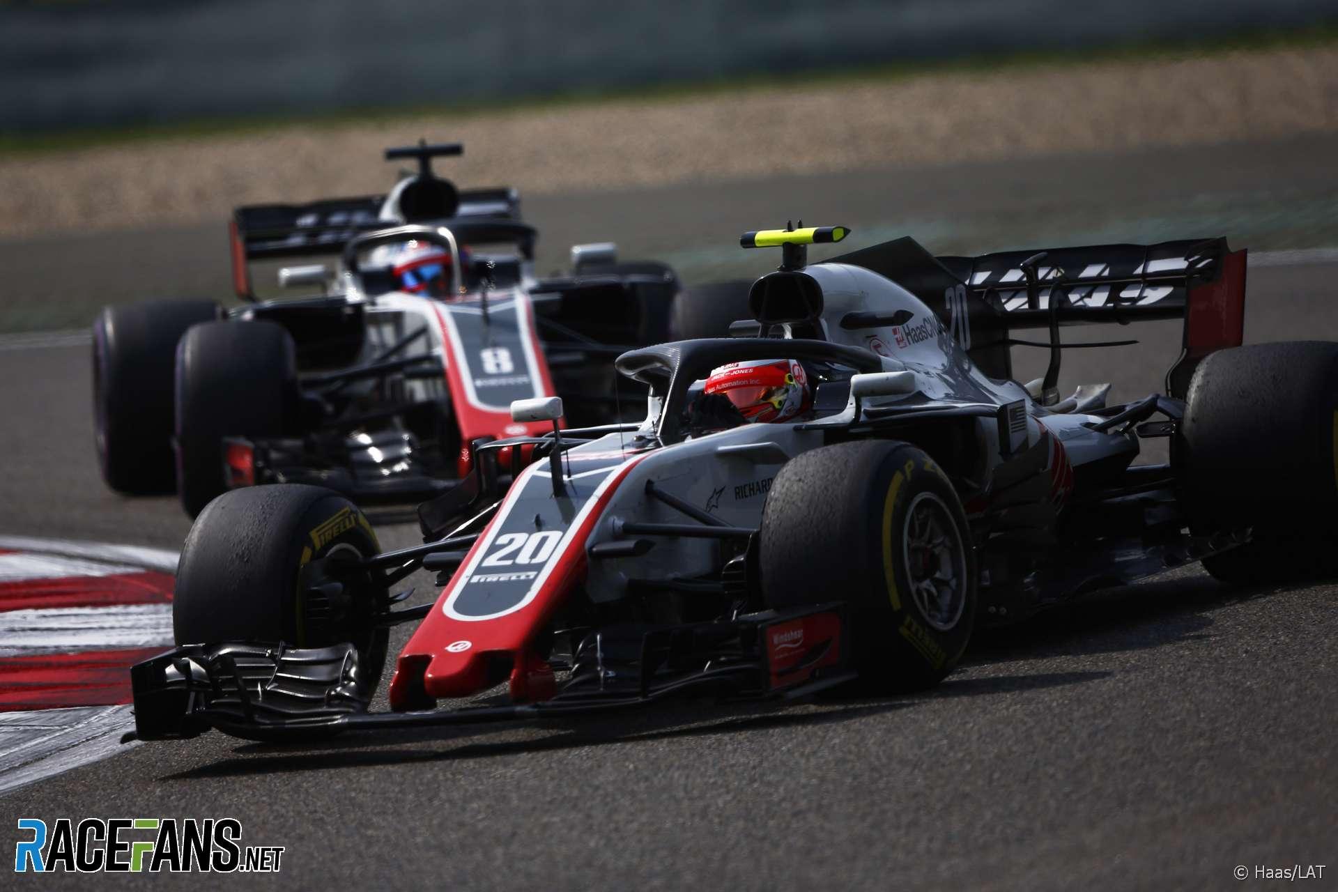 Kevin Magnussen, Haas, Shanghai International Circuit, 2018
