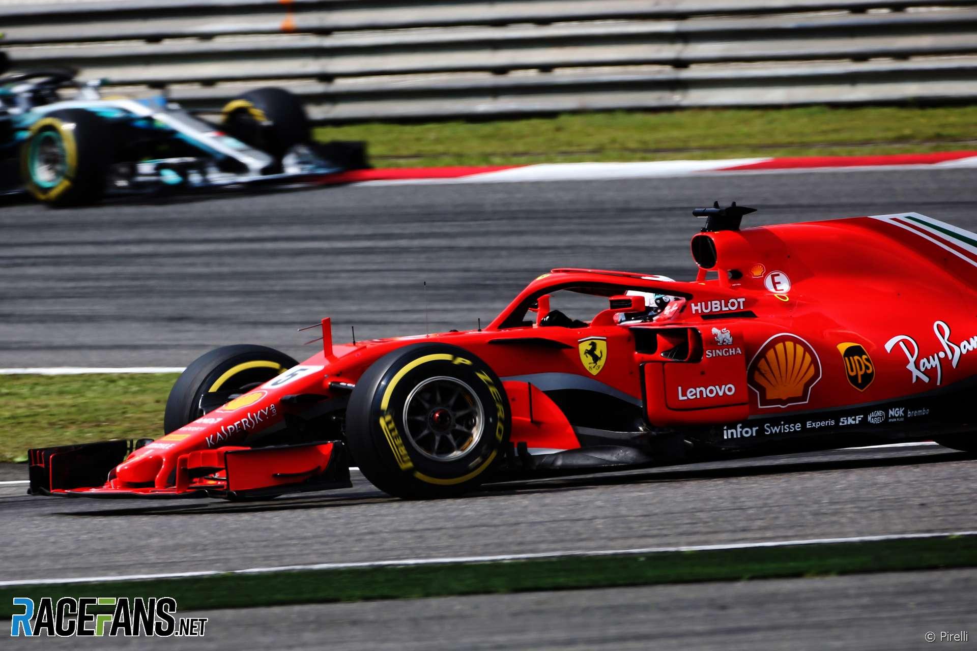 Sebastian Vettel, Ferrari, Shanghai International Circuit, 2018
