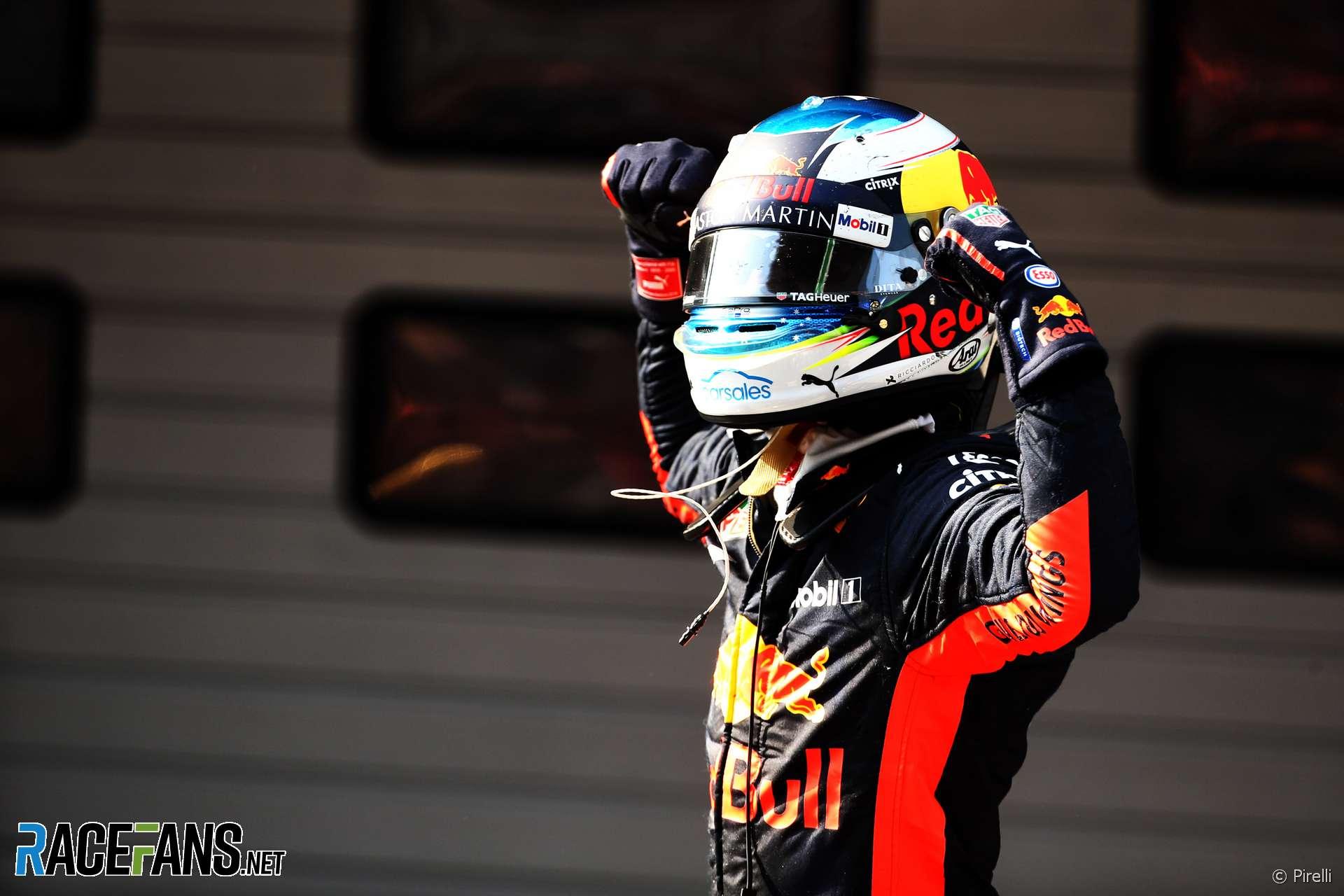 Daniel Ricciardo, Red Bull, Shanghai International Circuit, 2018