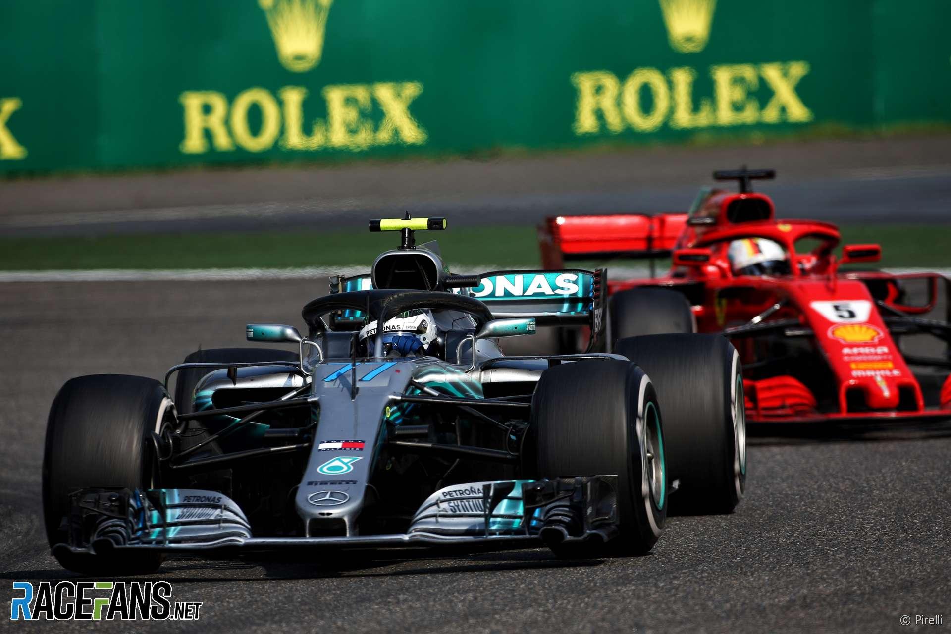 Valtteri Bottas, Mercedes, Shanghai International Circuit, 2018