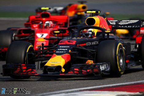 Max Verstappen, Red Bull, Shanghai International Circuit, 2018