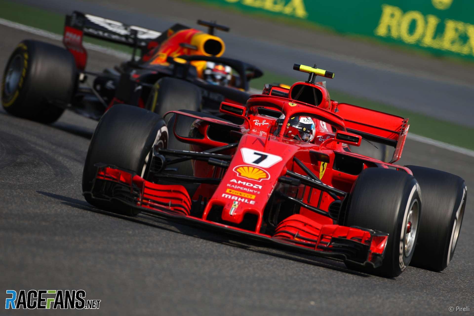 Kimi Raikkonen, Ferrari, Shanghai International Circuit, 2018