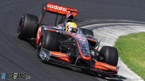 Lewis Hamilton, McLaren, Hungaroring, 2009