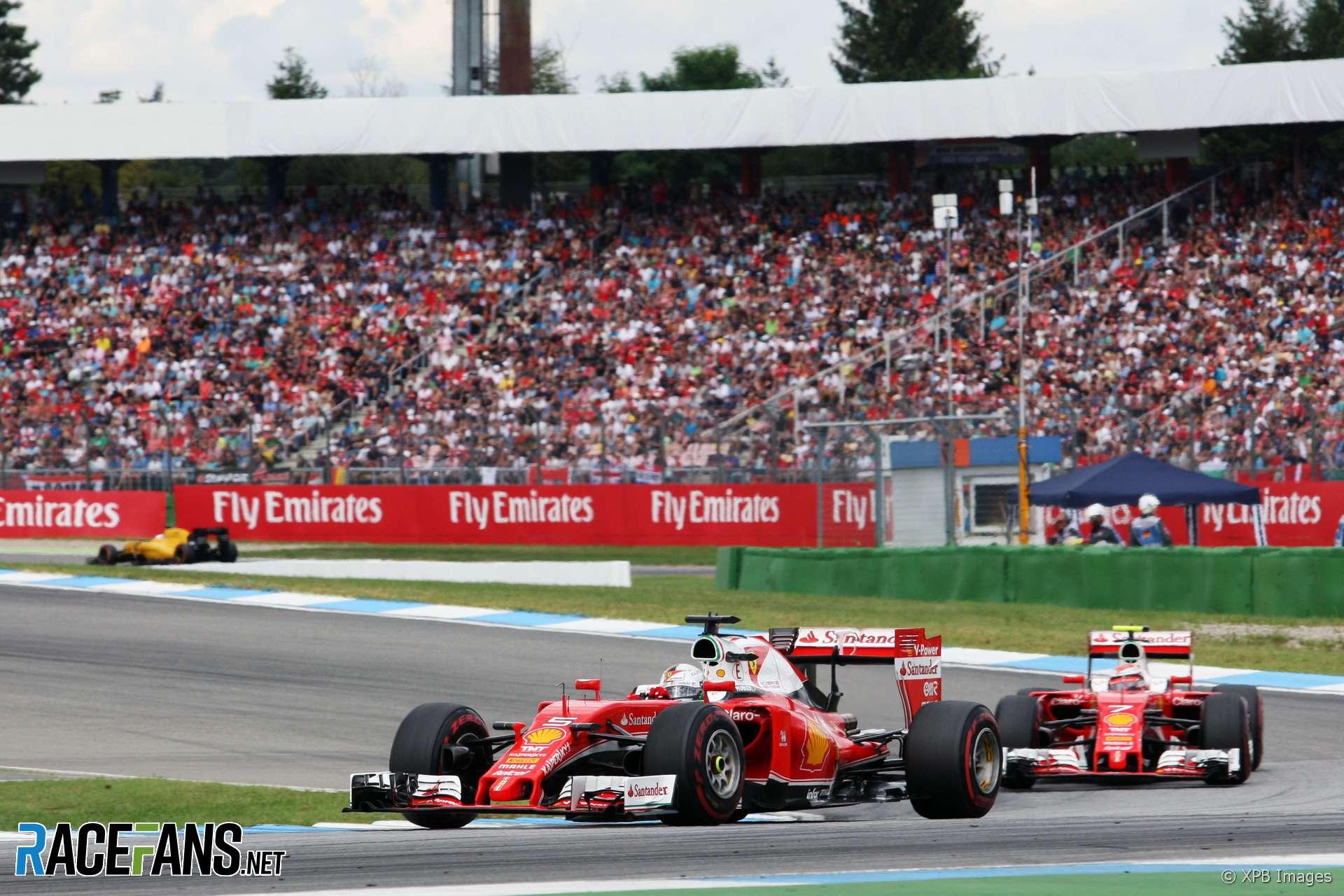 Sebastian Vettel, Ferrari, Hockenheim, 2016