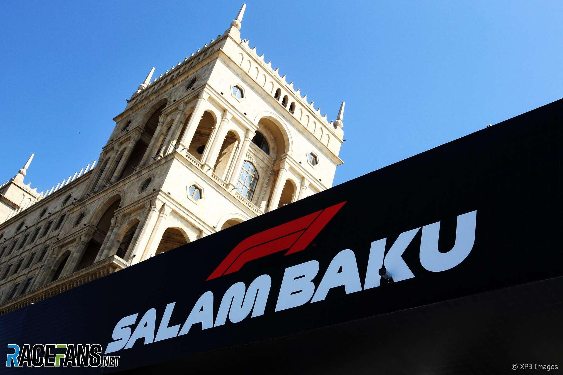 Baku City Circuit, 2018