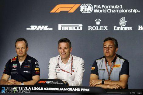 Paul Monaghan, James Allison, Mario Isola, Baku City Circuit, 2018