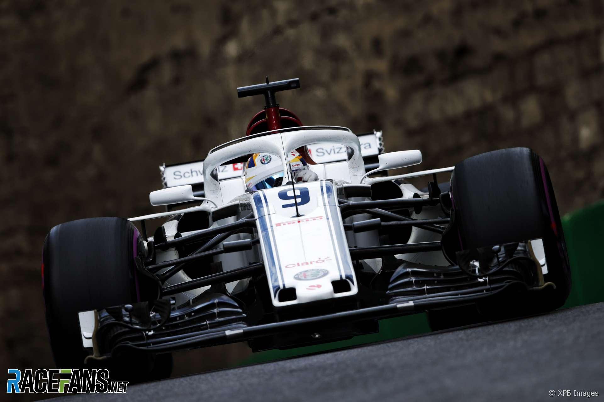 Marcus Ericsson, Sauber, Baku City Circuit, 2018