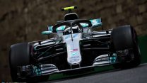 Mercedes are one second slower in Baku than last year