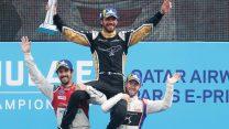 Jean-Eric Vergne, Lucas Di Grassi, Sam Bird, Paris EPrix, Formula E