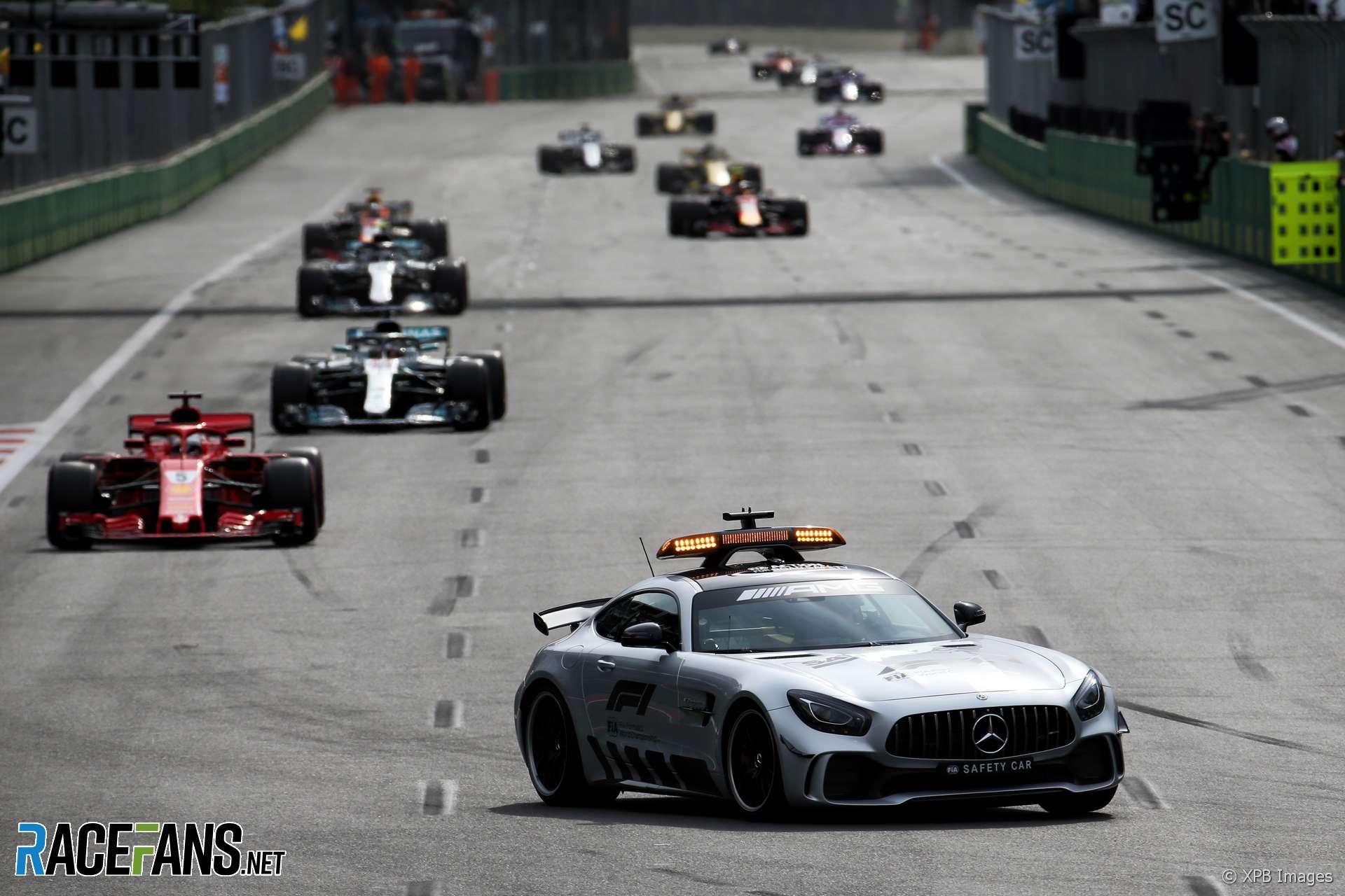 Safety Car, Baku City Circuit, 2018