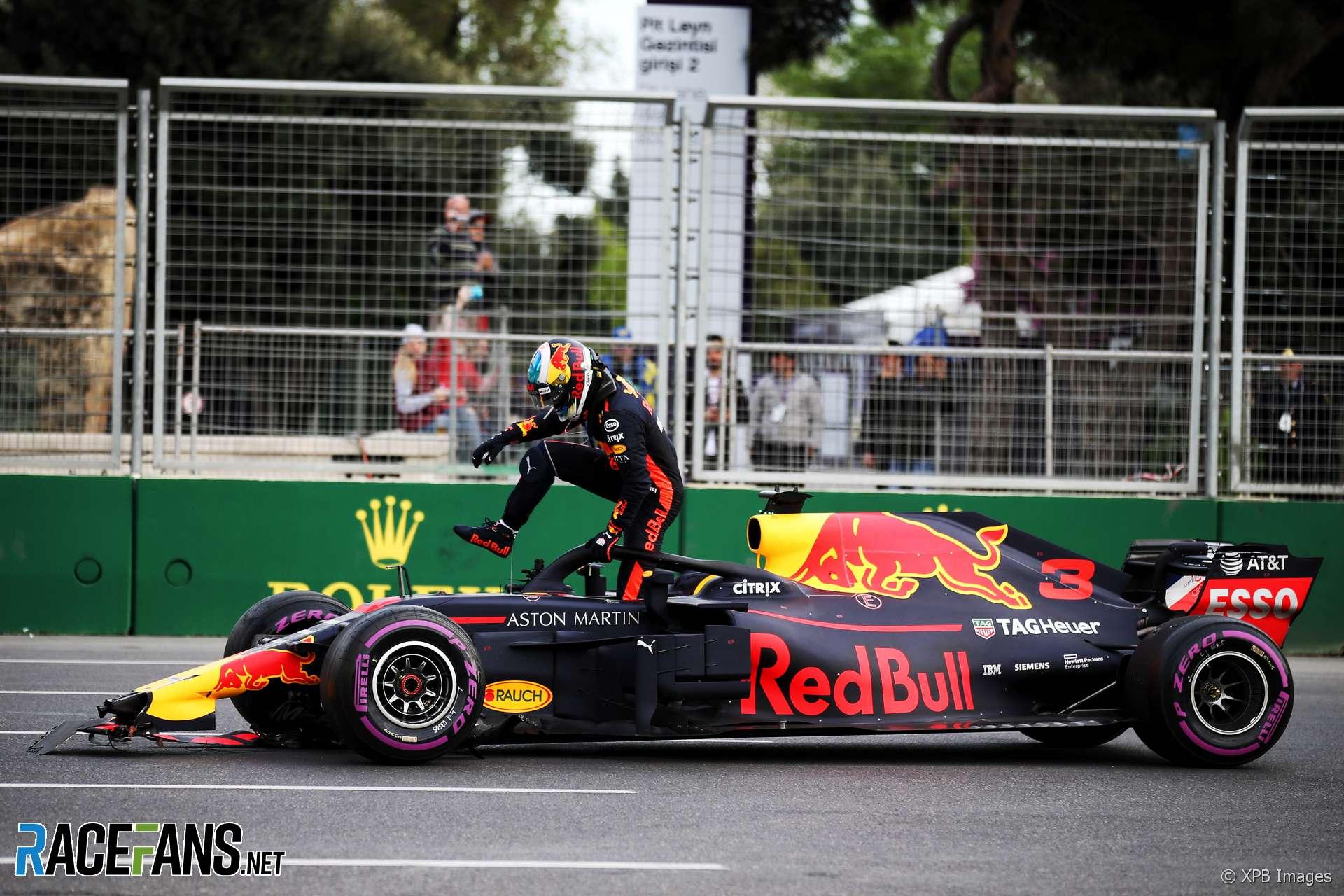 Daniel Ricciardo, Red Bull, Baku City Circuit, 2018