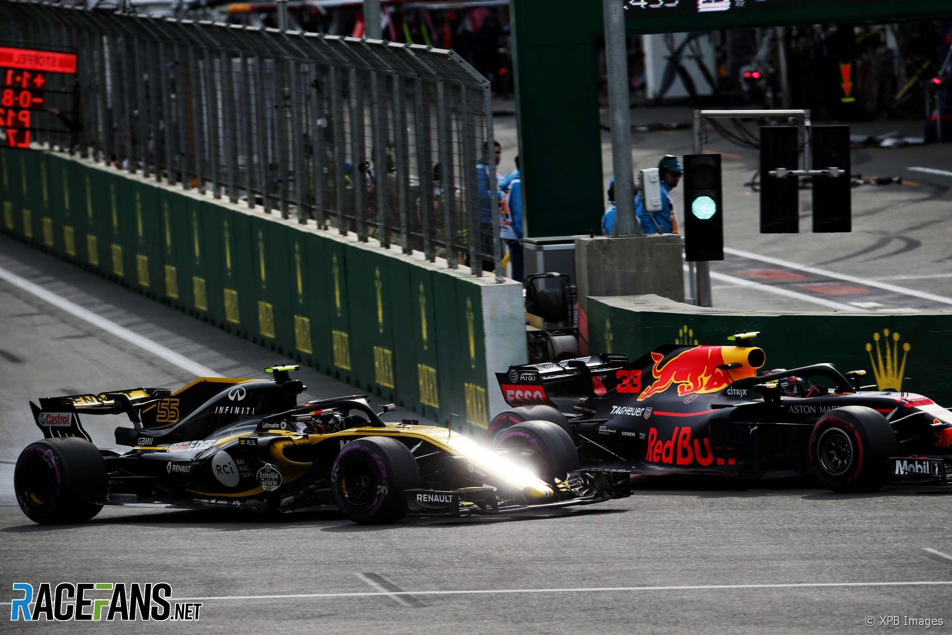 Carlos Sainz Jnr, Renault, Baku City Circuit, 2018
