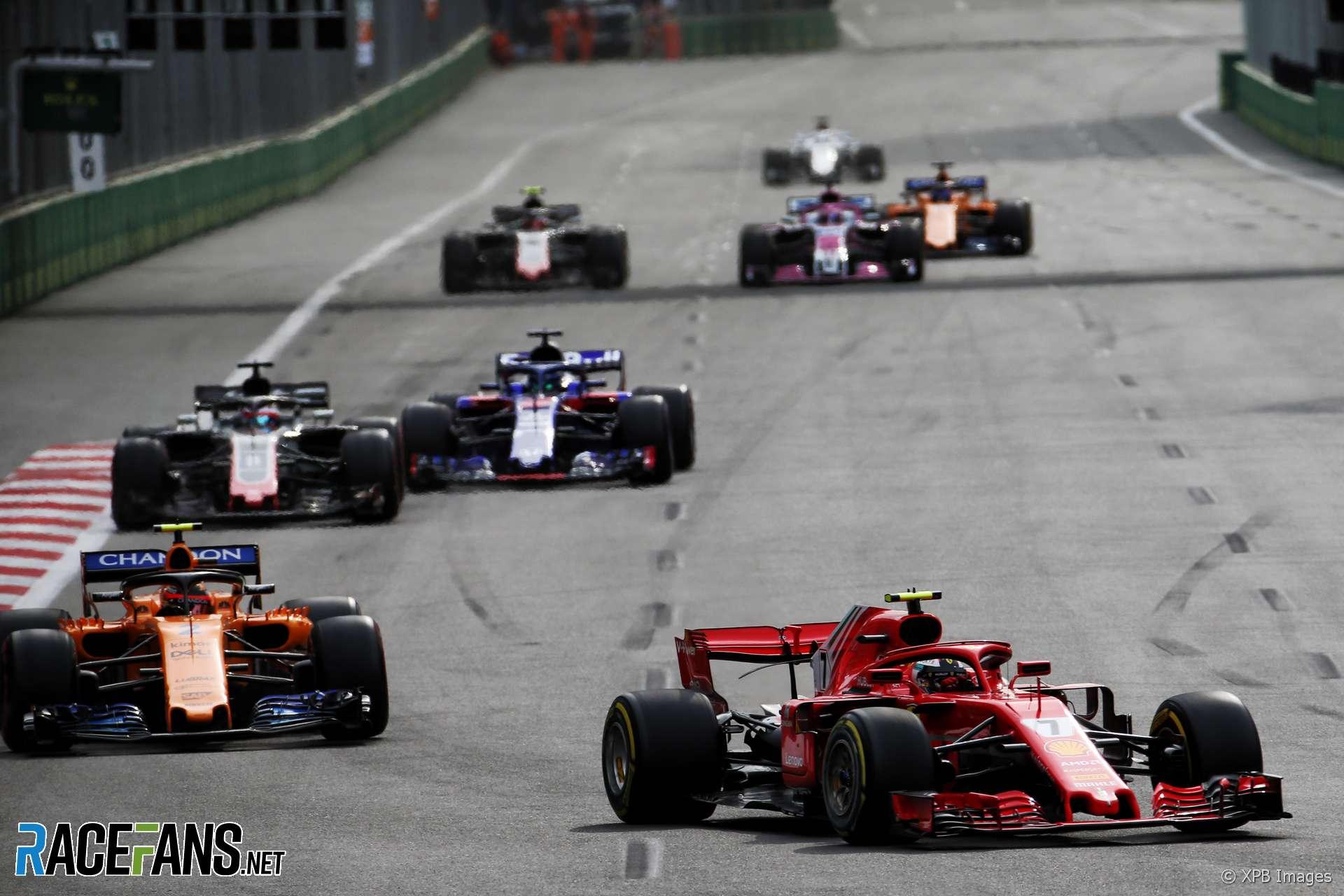 Kimi Raikkonen, Ferrari, Baku City Circuit, 2018