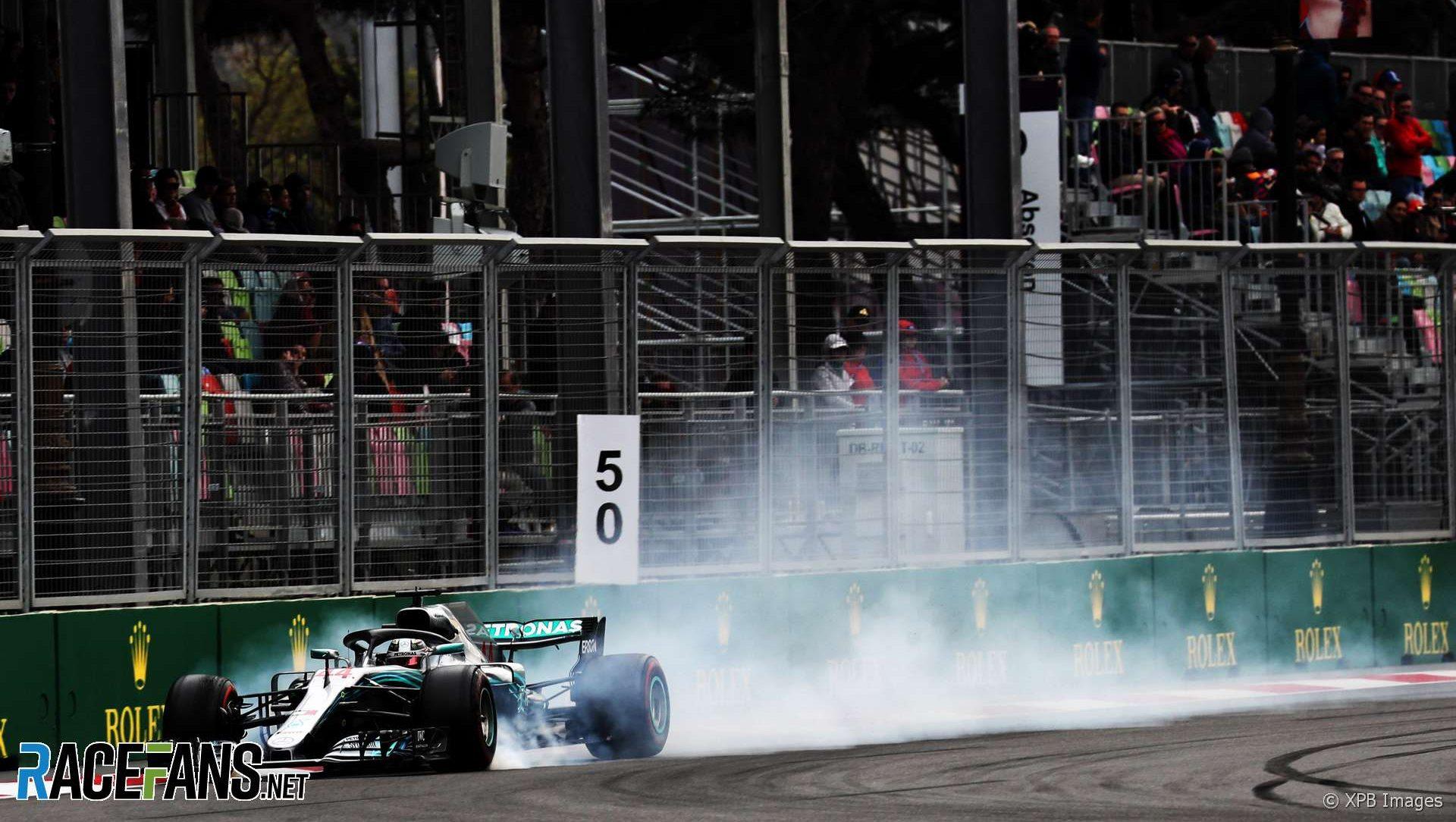 Lewis Hamilton, Mercedes, Baku City Circuit, 2018
