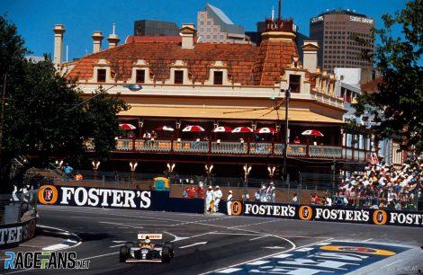 Alain Prost, Williams, Adelaide, 1993