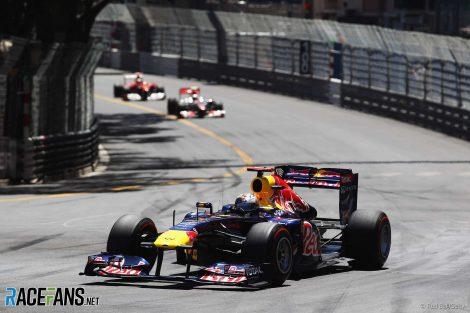 Sebastian Vettel, Red Bull, Monaco, 2011