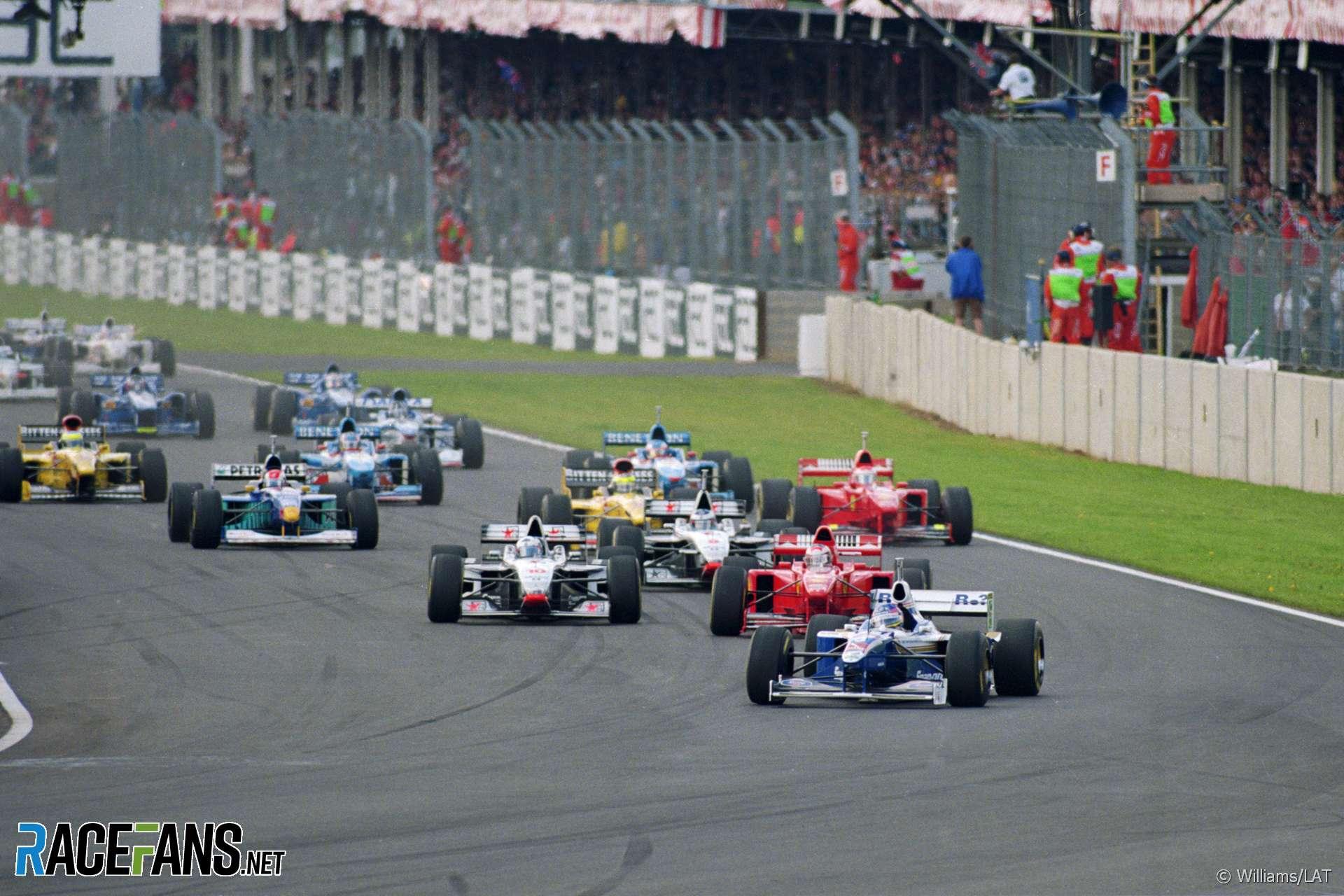 Start, Silverstone, 1997