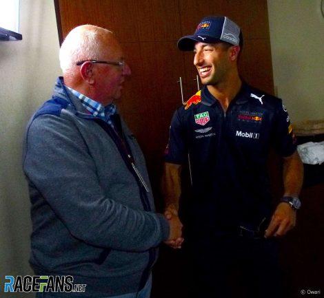Dieter Rencken, Daniel Ricciardo